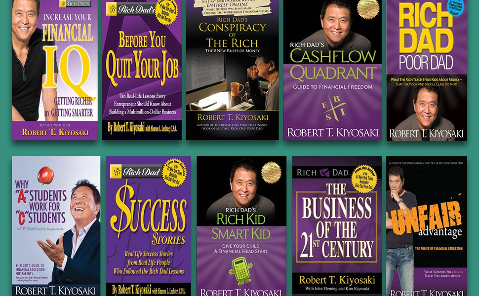 15 Best Book By Robert T. Kiyosaki